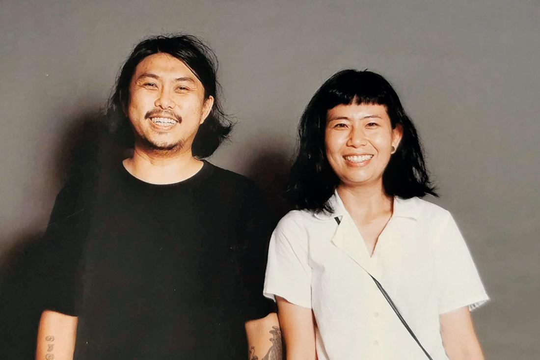 Shin Chang and Penny Ng, Partners at Kuala Lumpur-based studio MentahMatter. Photo by Kak Jamaliah Mohd Yasin.