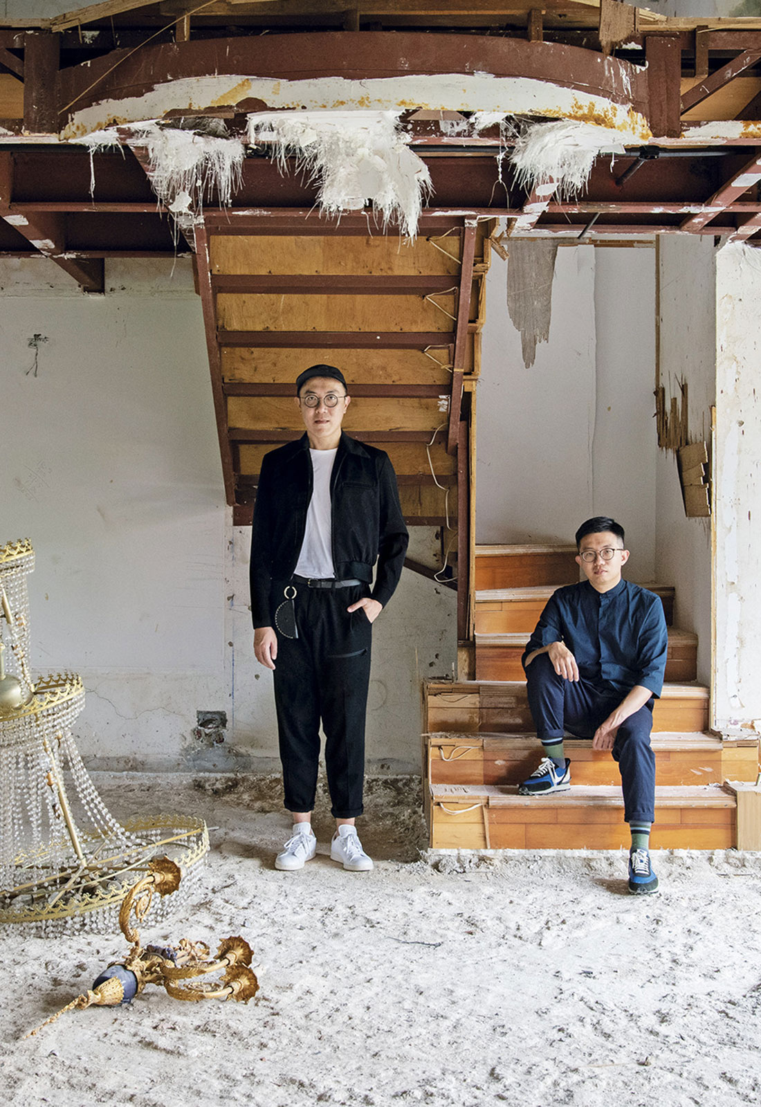 Leong Hon Kit and Si Jian Xin, Founding Partners of Singapore-based studio Wynk Collaborative. Photo by Jovian Lim.