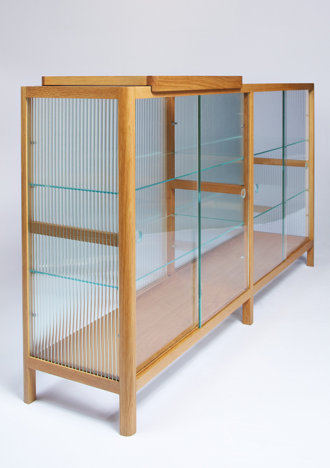 Clear Display Cabinet, Folks 3.0 by Nathan Yong