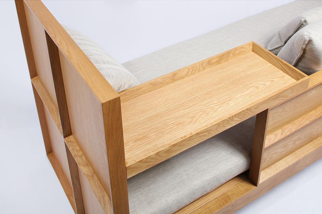 Tartan Sofa Bed, Folks 3.0 by Nathan Yong