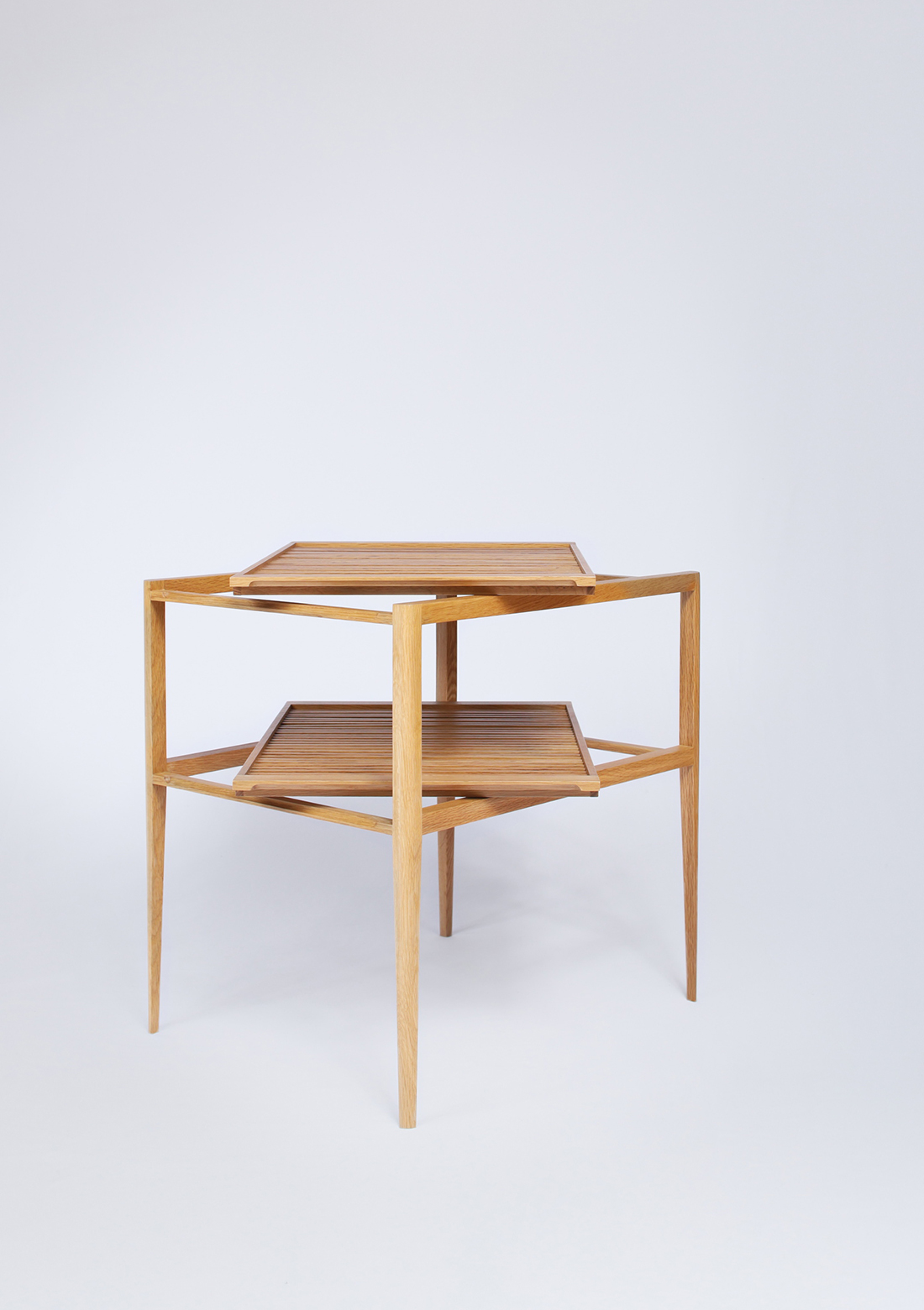 Trey Side Table, Folks 3.0 by Nathan Yong