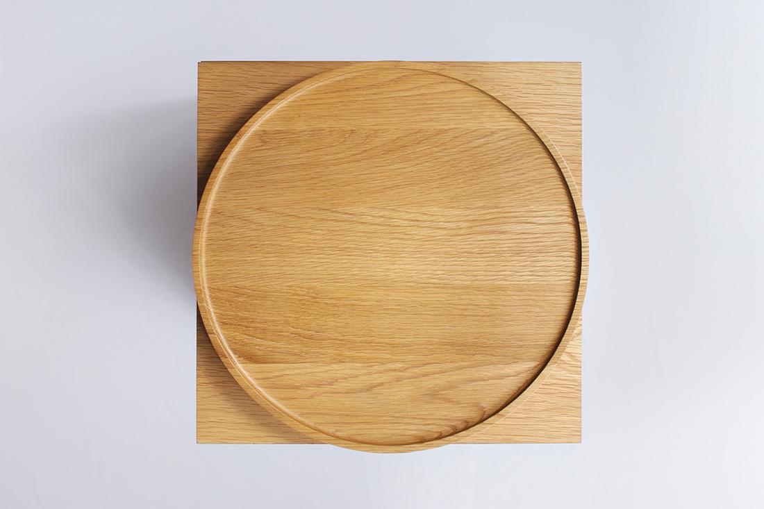 Lotus Side Table, Folks 3.0 by Nathan Yong
